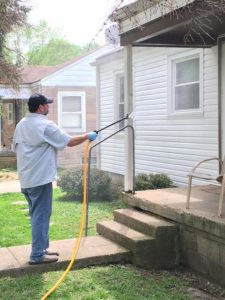 Vinyl Siding - Soft Wash - Refresh Exterior Cleaning - Todd Angleton
