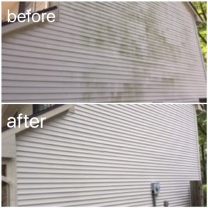 Refresh Exterior Cleaning - Before & After
